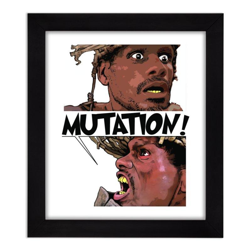 Water Mutation Home Framed Fine Art Print by The Pvt Murphy Loot Shop