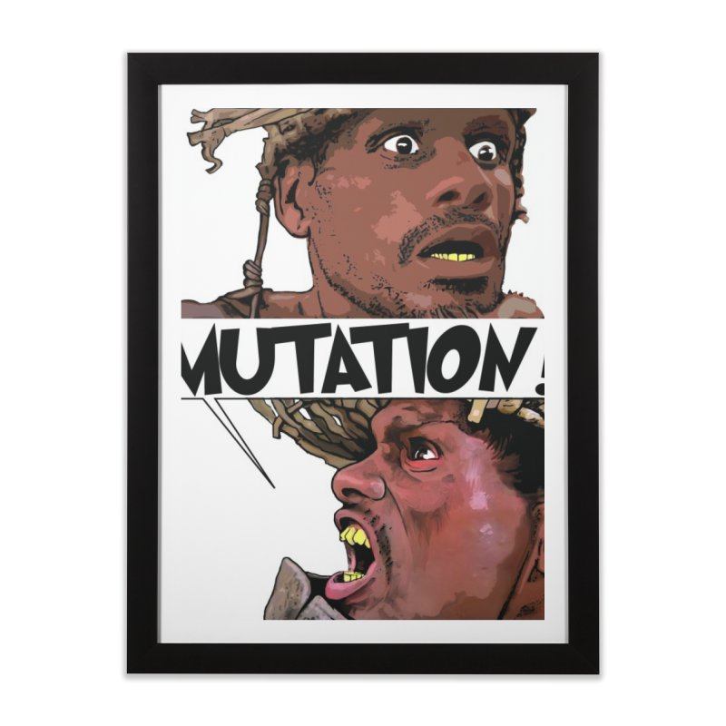 Water Mutation Home Framed Fine Art Print by The Pvt Murphy Loot Shop