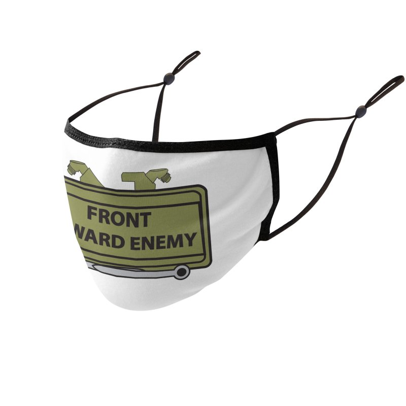 Claymore Mask Accessories Face Mask by The Pvt Murphy Loot Shop