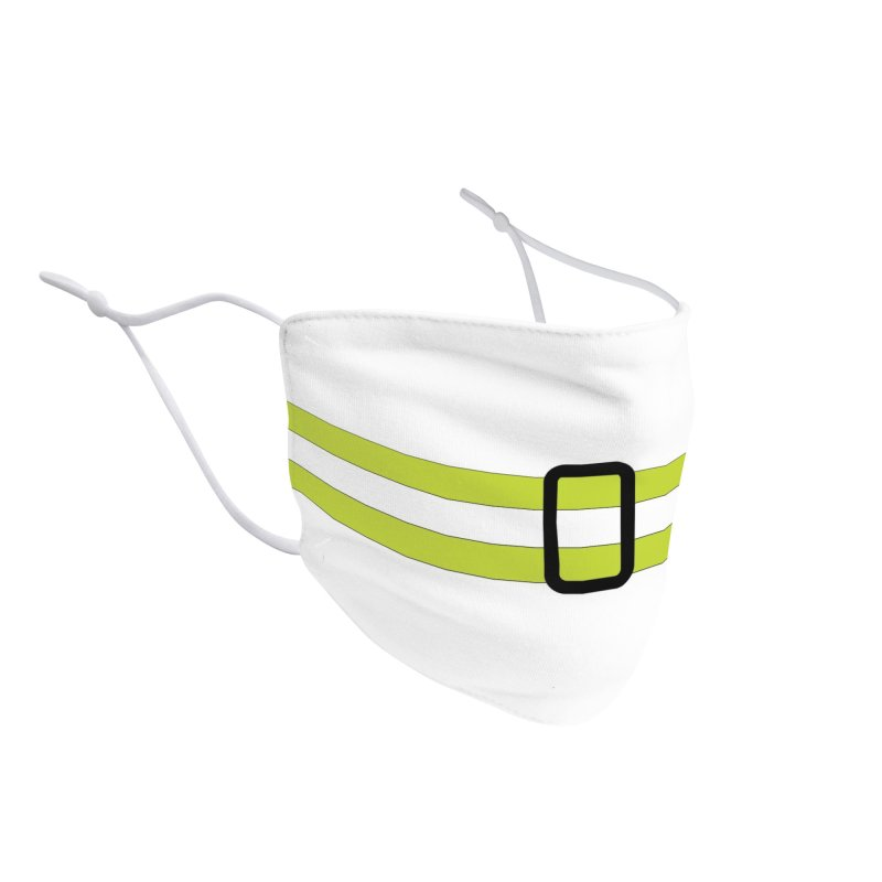 Reflective Belt Mask Accessories Face Mask by The Pvt Murphy Loot Shop