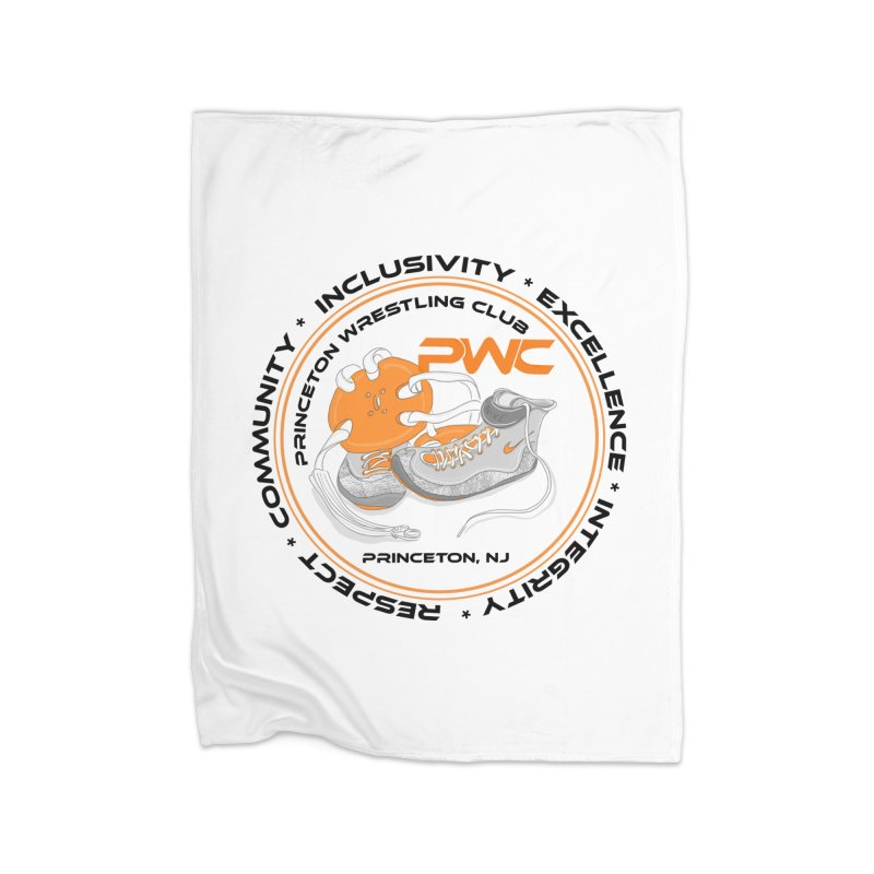 PWC Circle Logo White Shirts  Home Blanket by PWC's Artist Shop