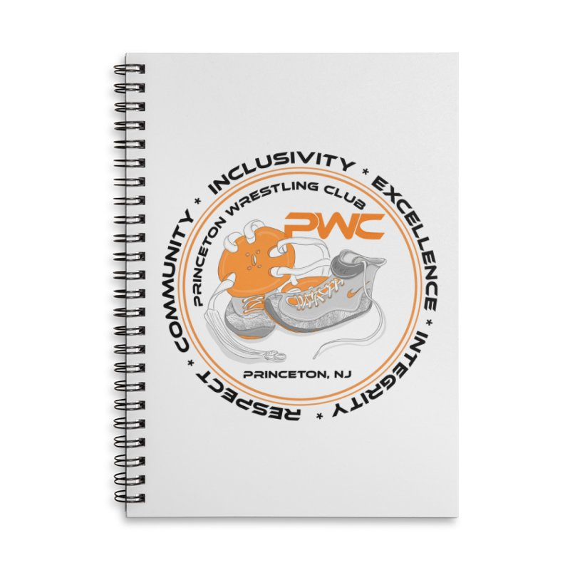PWC Circle Logo White Shirts  Accessories Notebook by PWC's Artist Shop