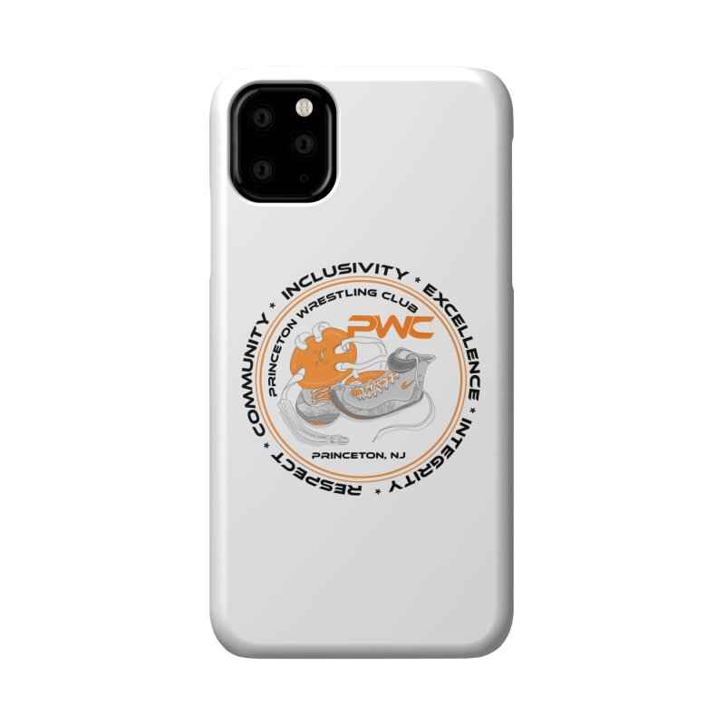 PWC Circle Logo White Shirts  Accessories Phone Case by PWC's Artist Shop