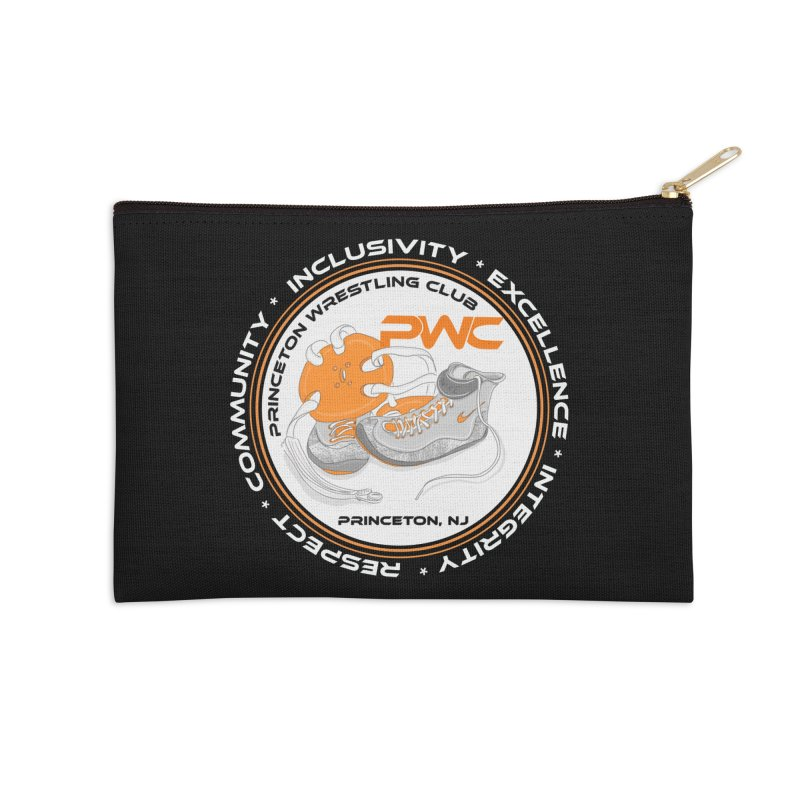 PWC Logo Dark Shirts and Lounge Pants  Accessories Zip Pouch by PWC's Artist Shop