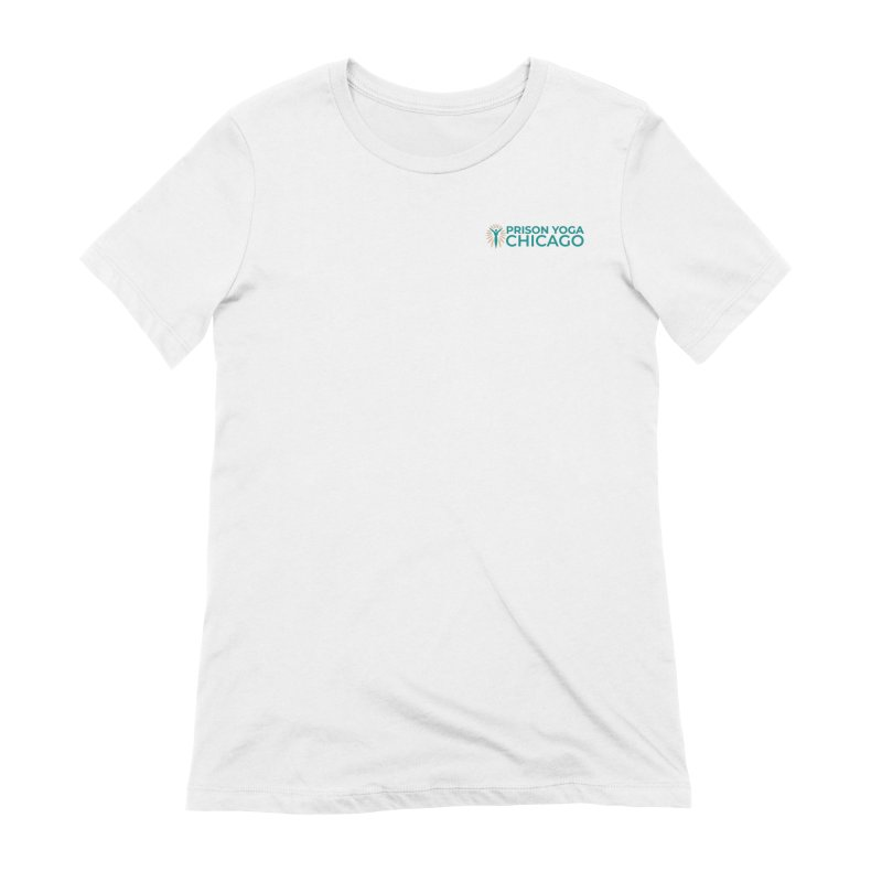 Prison Yoga Chicago Women's Extra Soft T-Shirt by Support Prison Yoga Chicago