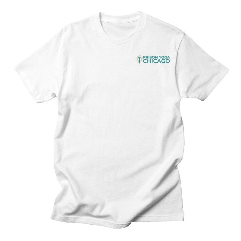 Prison Yoga Chicago Men's T-Shirt by Support Prison Yoga Chicago
