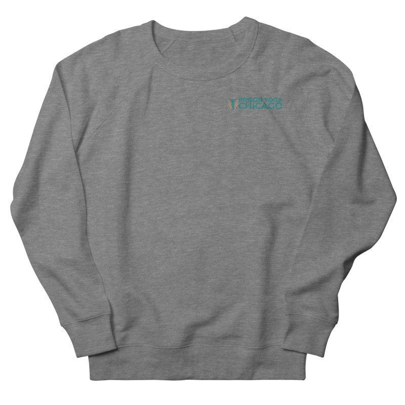 Prison Yoga Chicago Men's French Terry Sweatshirt by Support Prison Yoga Chicago