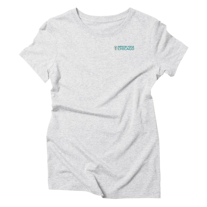 Prison Yoga Chicago Women's Triblend T-Shirt by Support Prison Yoga Chicago