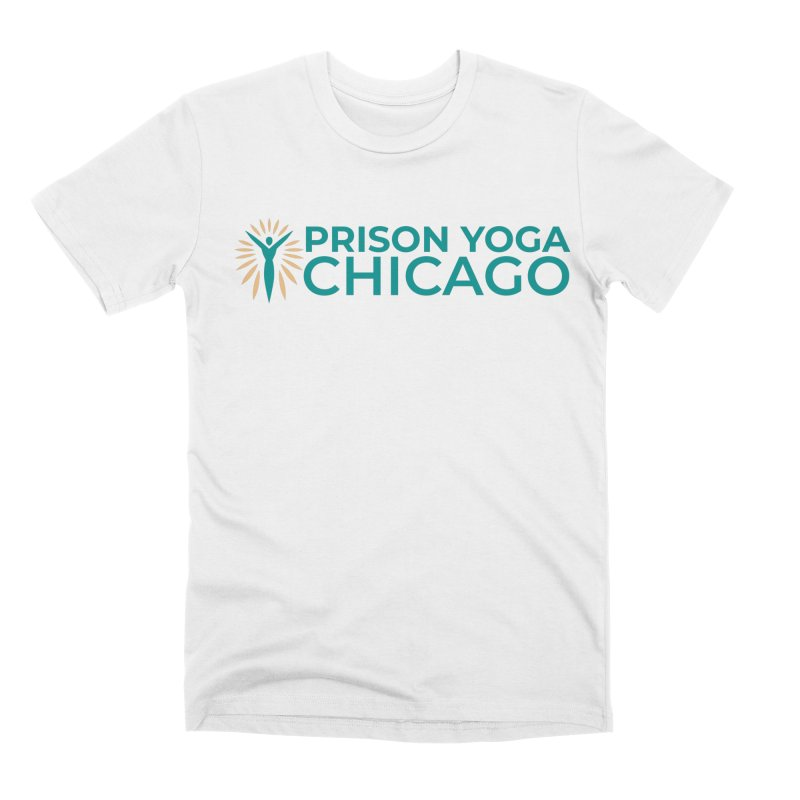 Prison Yoga Chicago Men's Premium T-Shirt by Support Prison Yoga Chicago