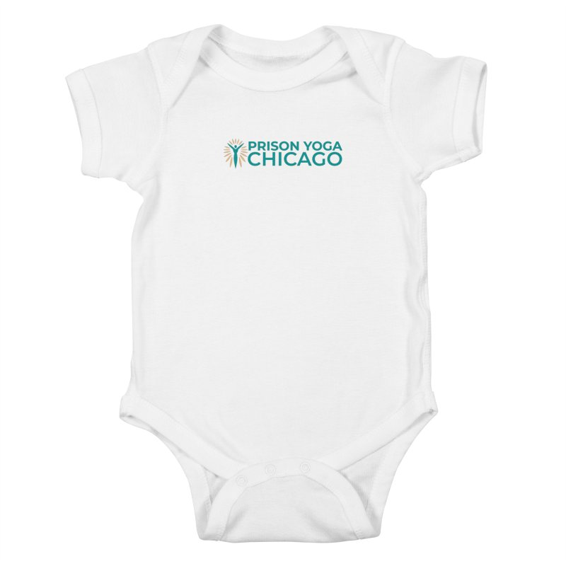 Prison Yoga Chicago Kids Baby Bodysuit by Support Prison Yoga Chicago