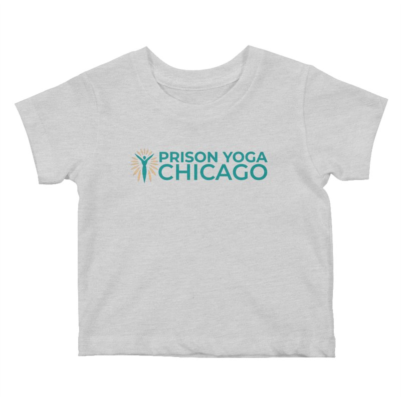 Prison Yoga Chicago Kids Baby T-Shirt by Support Prison Yoga Chicago