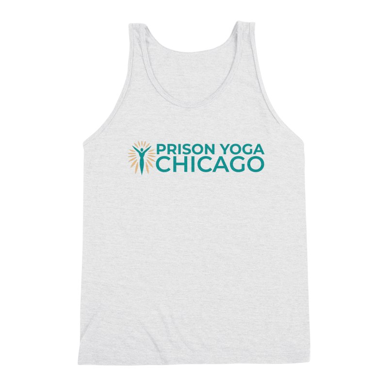 Prison Yoga Chicago Men's Triblend Tank by Support Prison Yoga Chicago