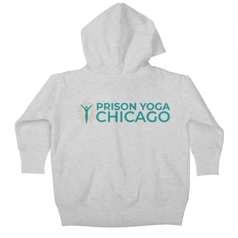 Prison Yoga Chicago Kids Baby Zip-Up Hoody by Support Prison Yoga Chicago
