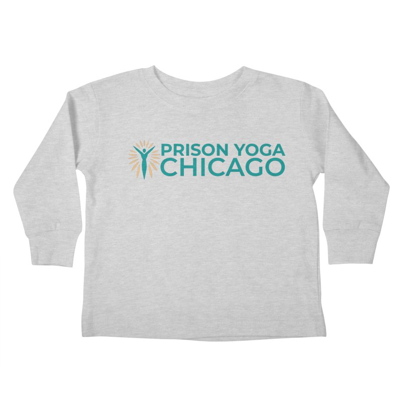 Prison Yoga Chicago Kids Toddler Longsleeve T-Shirt by Support Prison Yoga Chicago