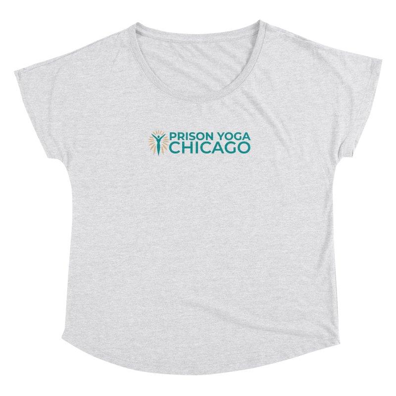 Prison Yoga Chicago Women's Dolman Scoop Neck by Support Prison Yoga Chicago