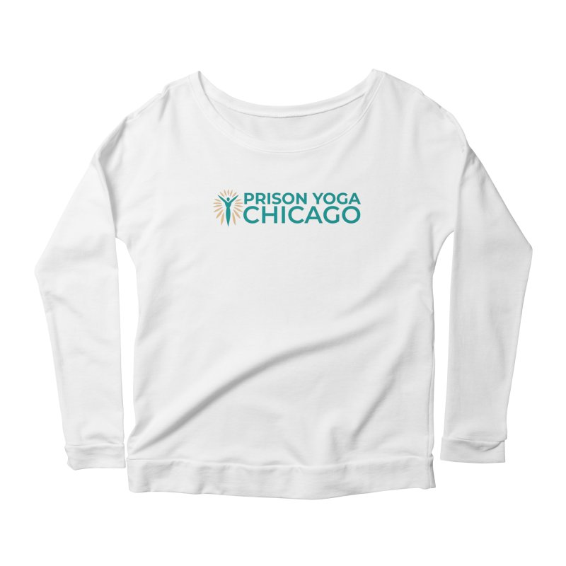 Prison Yoga Chicago Women's Scoop Neck Longsleeve T-Shirt by Support Prison Yoga Chicago