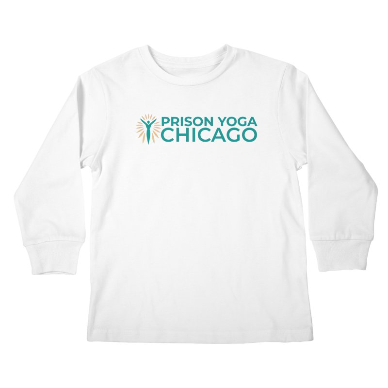 Prison Yoga Chicago Kids Longsleeve T-Shirt by Support Prison Yoga Chicago