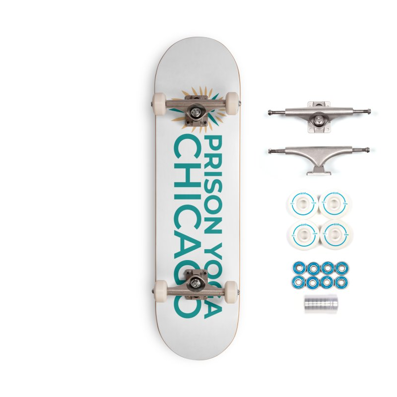 Prison Yoga Chicago Accessories Complete - Basic Skateboard by Support Prison Yoga Chicago