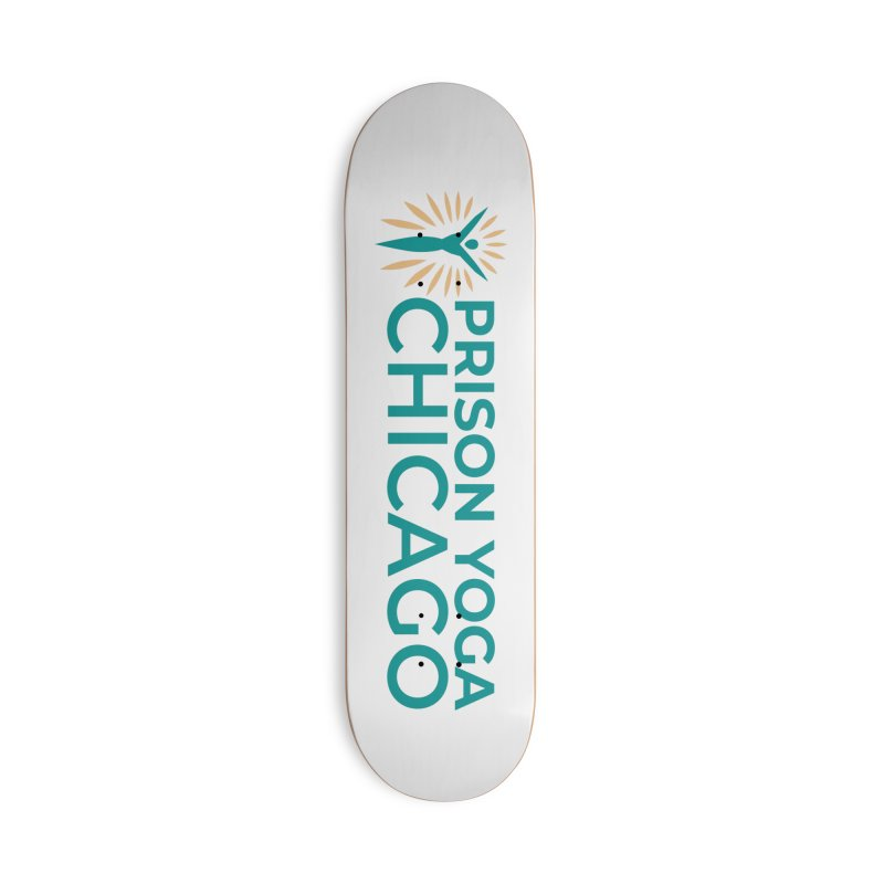 Prison Yoga Chicago Accessories Deck Only Skateboard by Support Prison Yoga Chicago