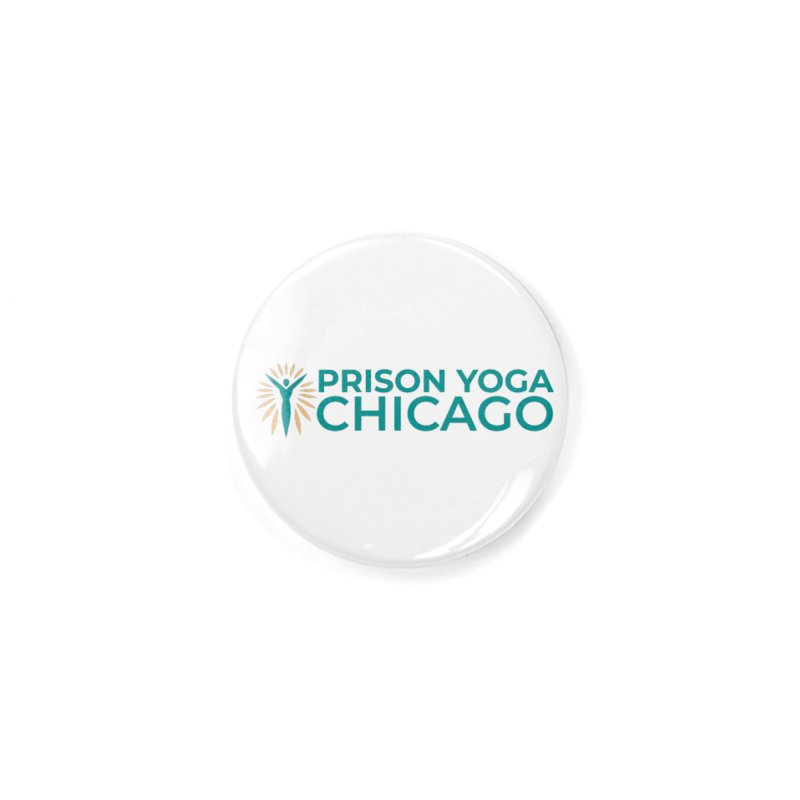 Prison Yoga Chicago Accessories Button by Support Prison Yoga Chicago