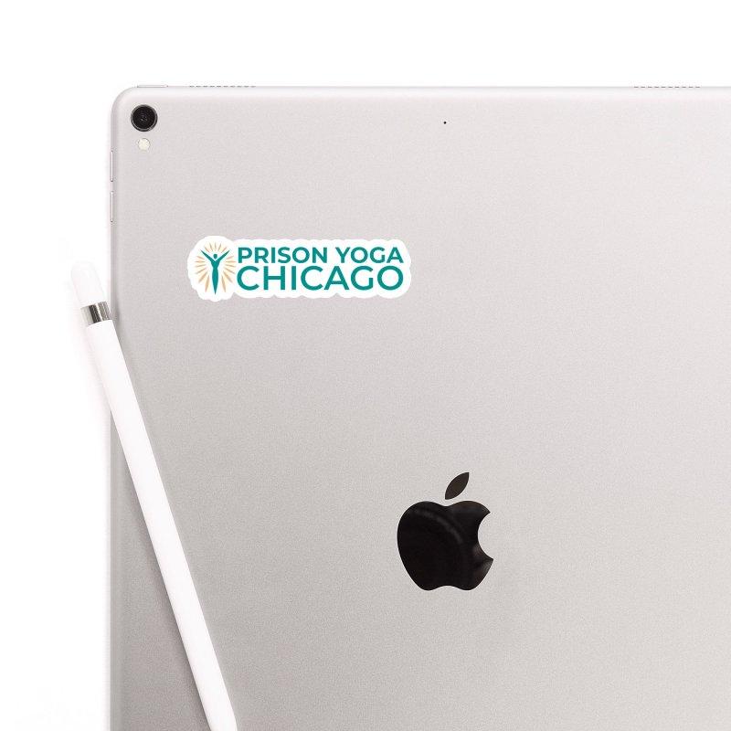 Prison Yoga Chicago Accessories Sticker by Support Prison Yoga Chicago