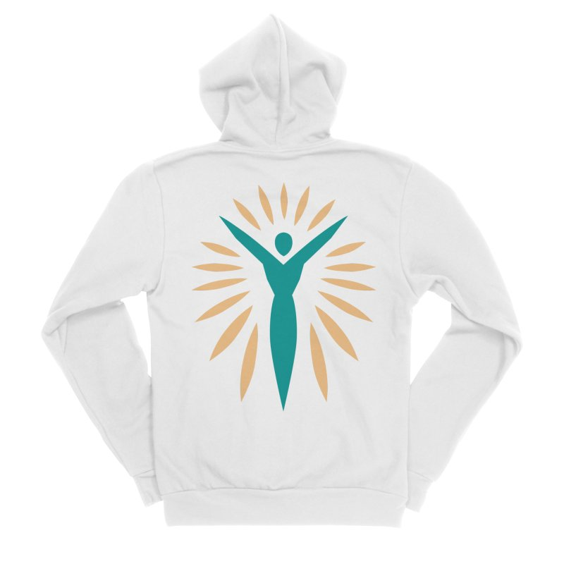 Prison Yoga Chicago Men's Zip-Up Hoody by Support Prison Yoga Chicago