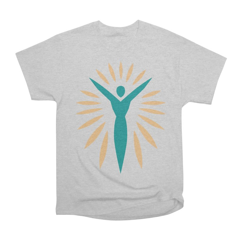 Prison Yoga Chicago Men's Heavyweight T-Shirt by Support Prison Yoga Chicago