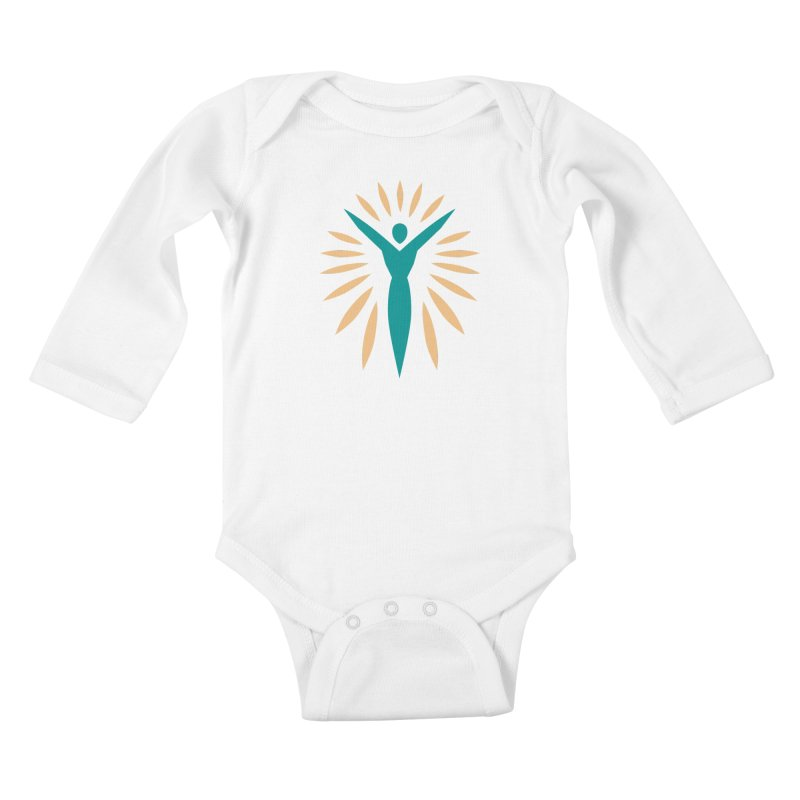 Prison Yoga Chicago in Kids Baby Longsleeve Bodysuit White by Support Prison Yoga Chicago