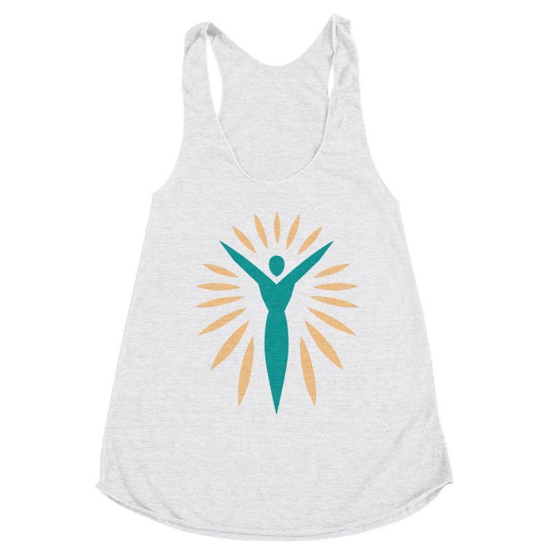 Prison Yoga Chicago Women's Racerback Triblend Tank by Support Prison Yoga Chicago