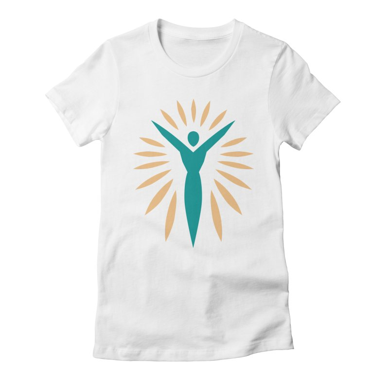 Prison Yoga Chicago in Women's Fitted T-Shirt White by Support Prison Yoga Chicago