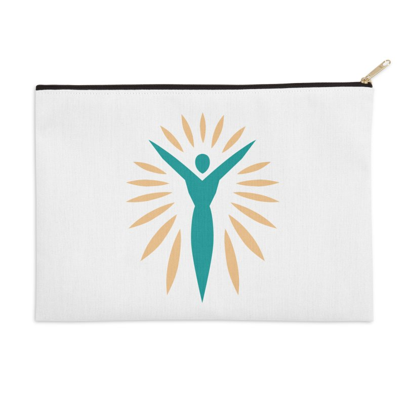 Prison Yoga Chicago Accessories Zip Pouch by Support Prison Yoga Chicago