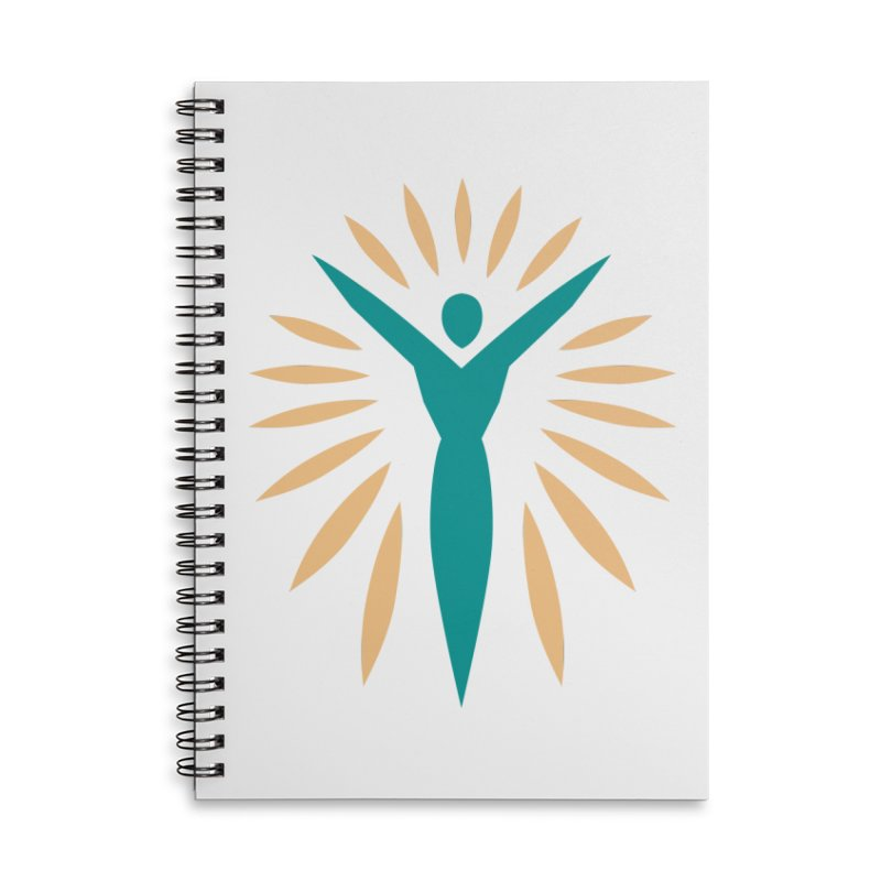 Prison Yoga Chicago Accessories Lined Spiral Notebook by Support Prison Yoga Chicago