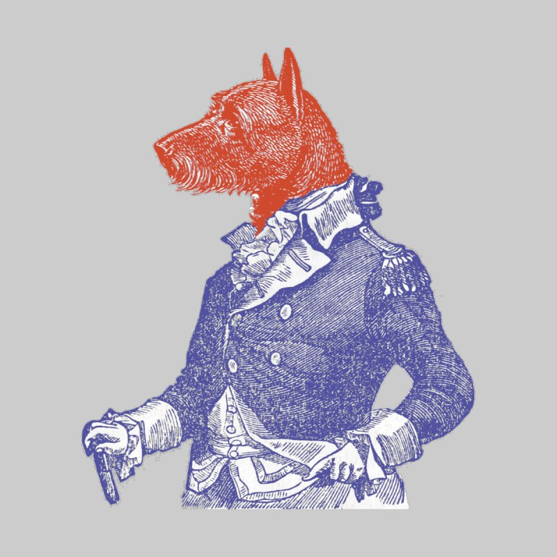General Dog Home Fine Art Print by Artist Shop of Pyramid Expander