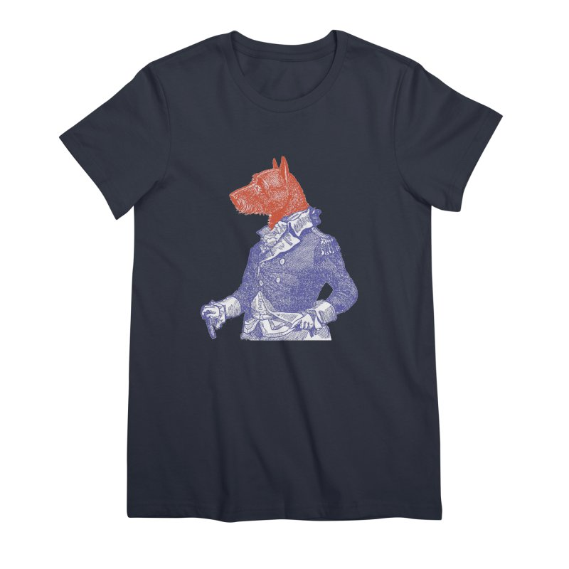 General Dog Women's Premium T-Shirt by Artist Shop of Pyramid Expander