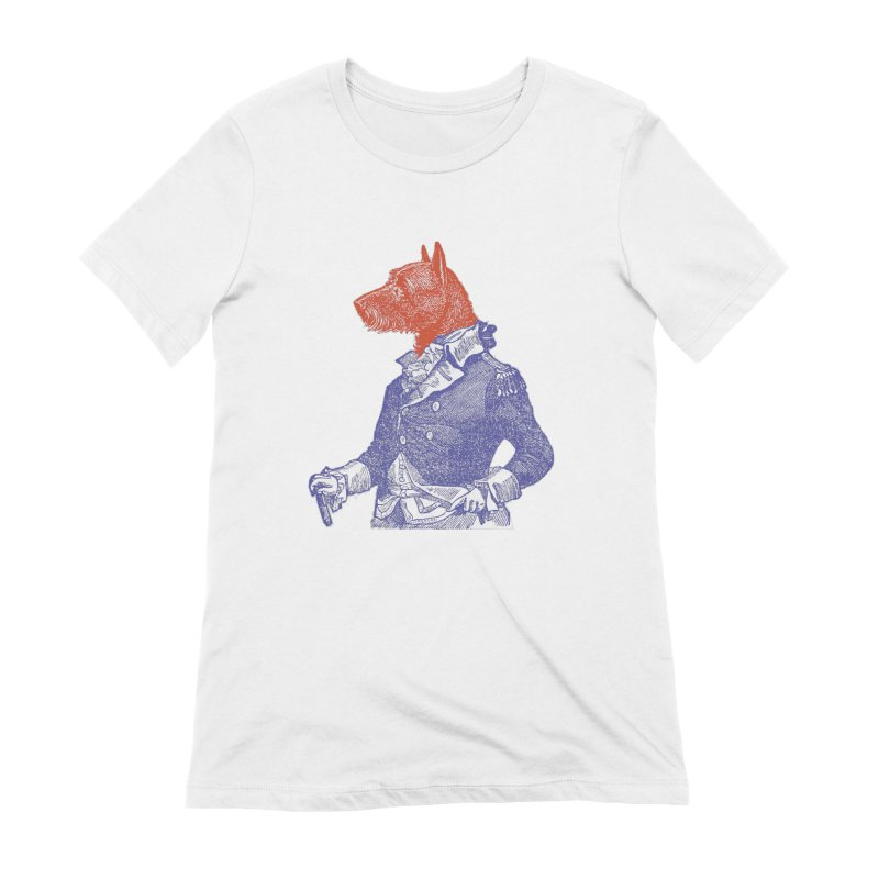 General Dog Women's Extra Soft T-Shirt by Artist Shop of Pyramid Expander