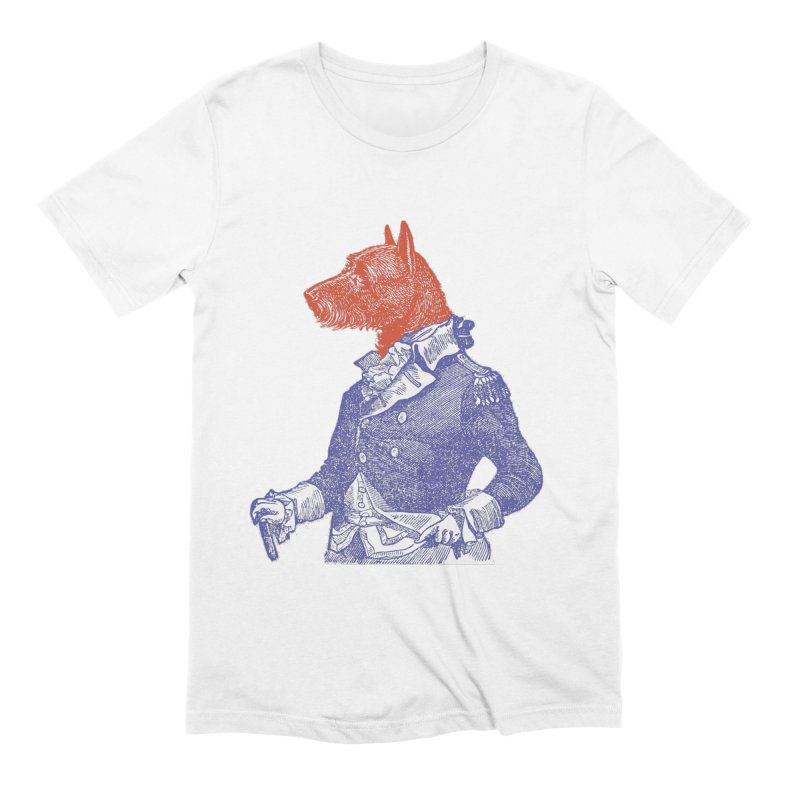 General Dog Men's Extra Soft T-Shirt by Artist Shop of Pyramid Expander