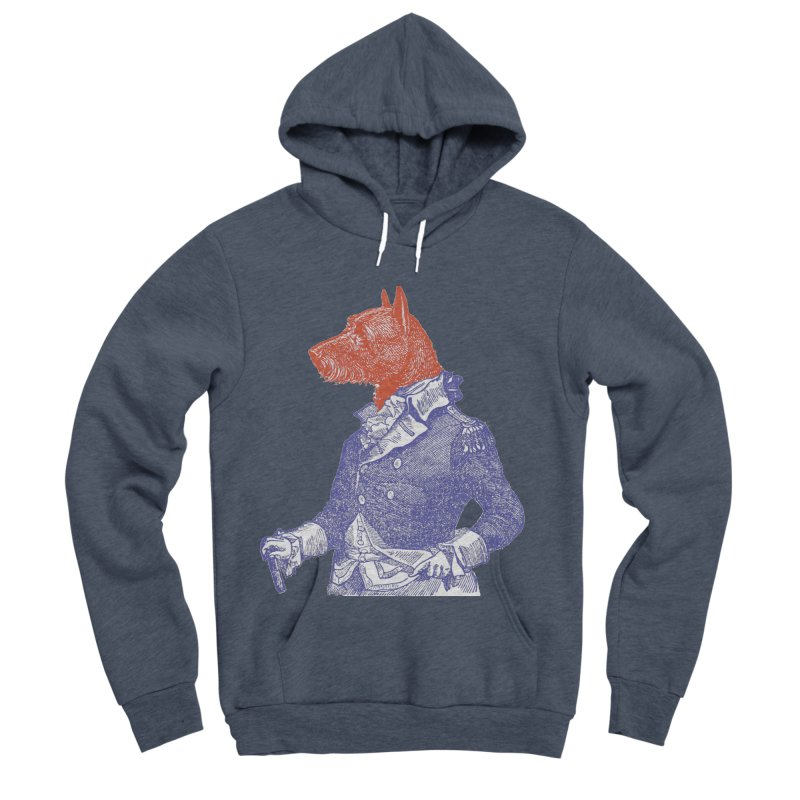General Dog Women's Sponge Fleece Pullover Hoody by Artist Shop of Pyramid Expander