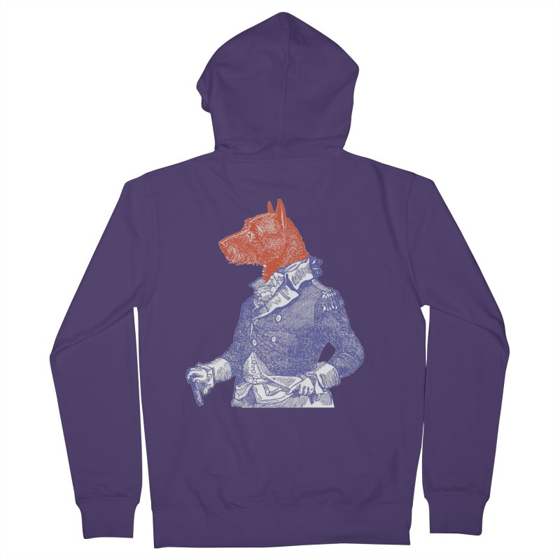 General Dog Women's Zip-Up Hoody by Artist Shop of Pyramid Expander