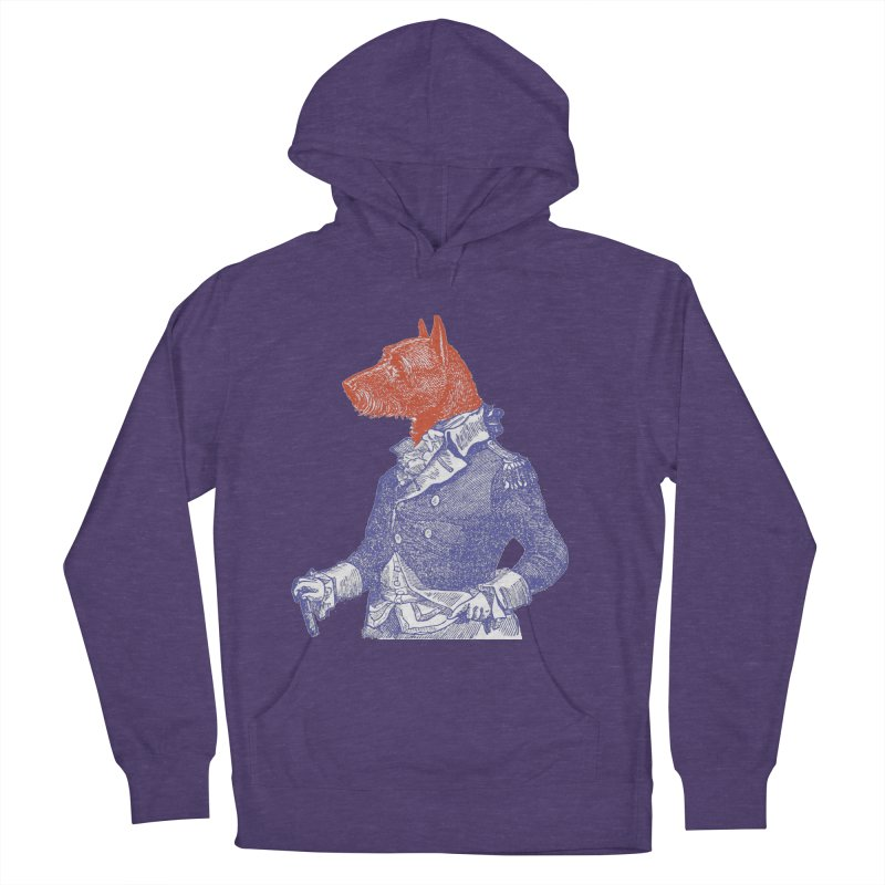General Dog Men's French Terry Pullover Hoody by Artist Shop of Pyramid Expander