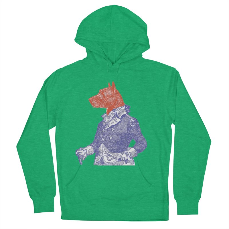 General Dog Men's Pullover Hoody by Artist Shop of Pyramid Expander