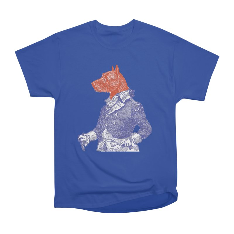 General Dog Men's Heavyweight T-Shirt by Artist Shop of Pyramid Expander