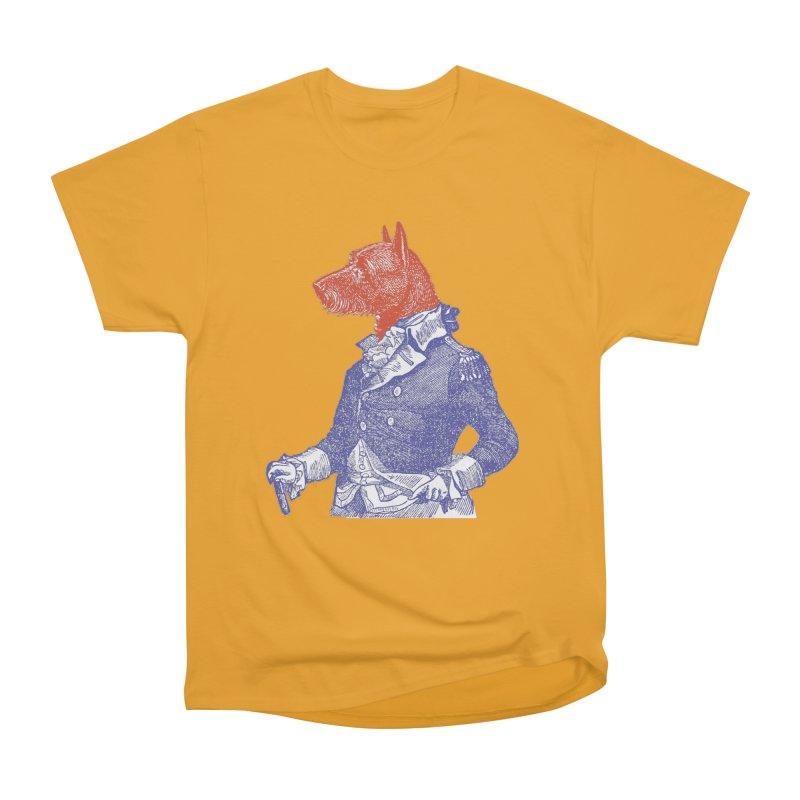 General Dog Women's Heavyweight Unisex T-Shirt by Artist Shop of Pyramid Expander