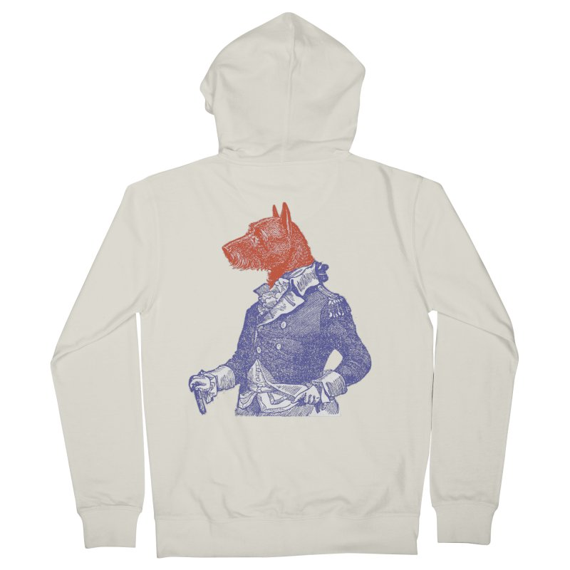 General Dog Women's French Terry Zip-Up Hoody by Artist Shop of Pyramid Expander