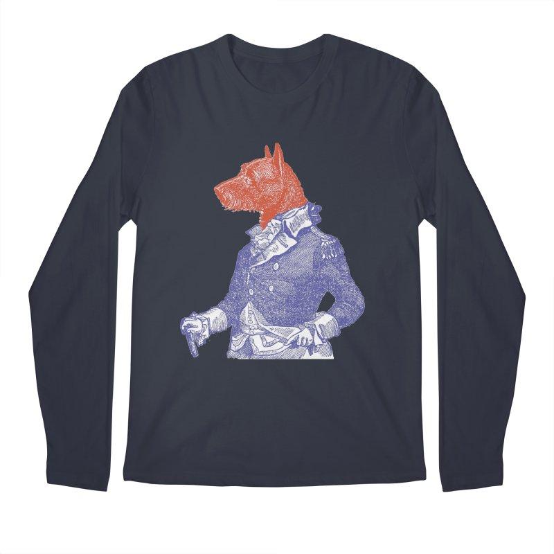 General Dog Men's Longsleeve T-Shirt by Artist Shop of Pyramid Expander