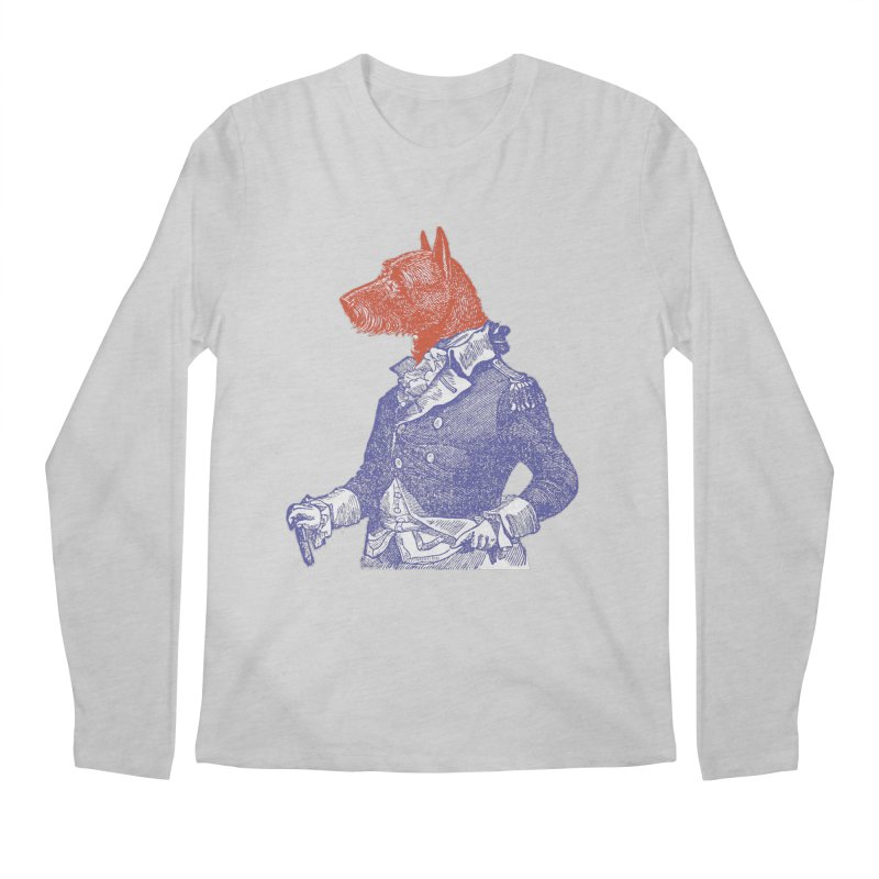 General Dog Men's Longsleeve T-Shirt by Artist Shop of Pyramid Expander
