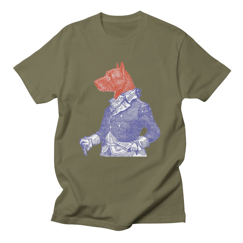General Dog Men's T-shirt by Artist Shop of Pyramid Expander