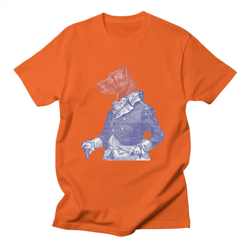 General Dog Men's Regular T-Shirt by Artist Shop of Pyramid Expander