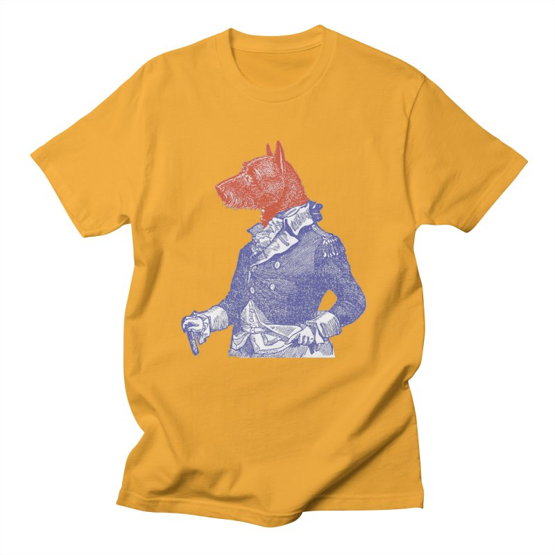 General Dog Women's Unisex T-Shirt by Artist Shop of Pyramid Expander