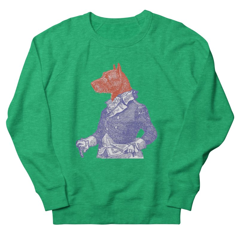 General Dog Women's French Terry Sweatshirt by Artist Shop of Pyramid Expander