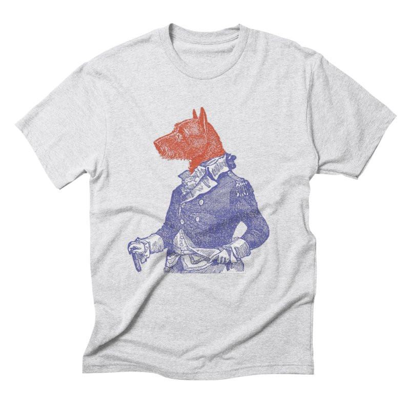 General Dog Men's Triblend T-Shirt by Artist Shop of Pyramid Expander